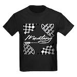 Mustang Tire Kids Dark T-Shirt