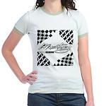 Mustang Tire Jr. Ringer T-Shirt