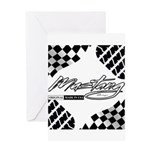 Mustang Tire Greeting Card