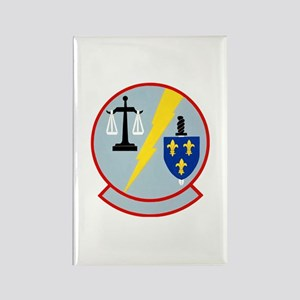 7100th Security Police Rectangle Magnet