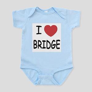 I heart bridge Infant Bodysuit