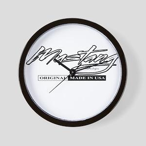 Mustang 2012 Wall Clock