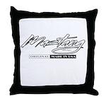Mustang 2012 Throw Pillow