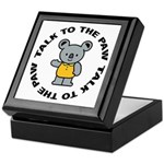 Cute Koala Keepsake Box