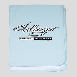 Challenger baby blanket