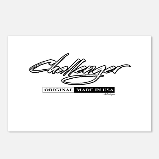Challenger Postcards (Package of 8)