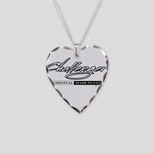 Challenger Necklace Heart Charm