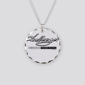Challenger Necklace Circle Charm