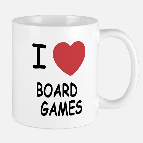 I heart board games Mug