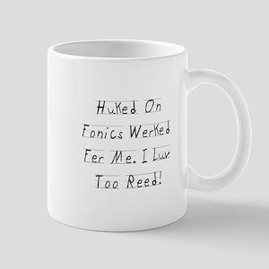 Huked On Fonics Mug