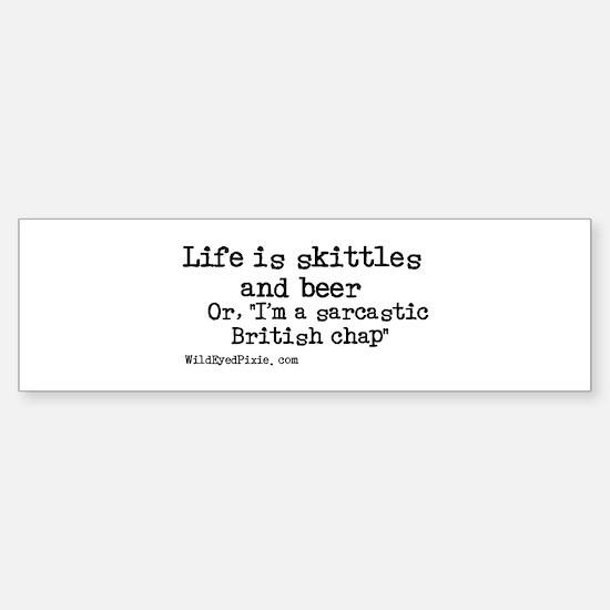 WildEyedPixie - Skittles&Beer Bumper Bumper Bumper Sticker