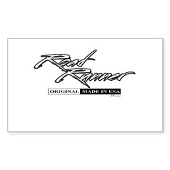 Road Runner Sticker (Rectangle)