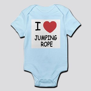 I heart jumping rope Infant Bodysuit