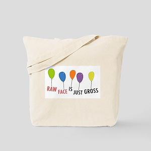 Raw Face Tote Bag