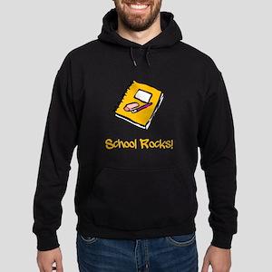 School Rocks Hoodie (dark)