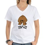 Cute Bear Women's V-Neck T-Shirt