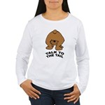 Cute Bear Women's Long Sleeve T-Shirt