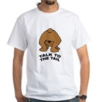 Cute Bear White T-Shirt