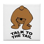 Cute Bear Tile Coaster