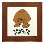 Cute Bear Framed Tile