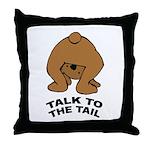 Cute Bear Throw Pillow