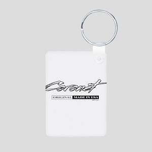Coronet Aluminum Photo Keychain