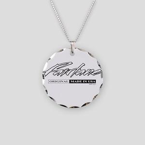 Fairlane Necklace Circle Charm
