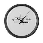 Fairlane Large Wall Clock