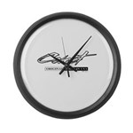 Comet Large Wall Clock