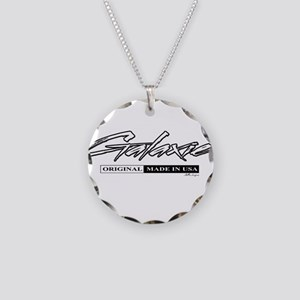 Galaxie Necklace Circle Charm