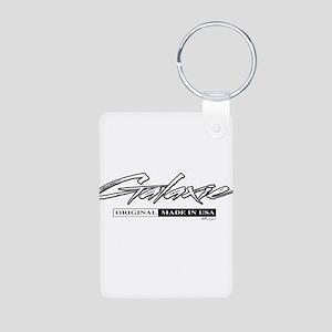 Galaxie Aluminum Photo Keychain