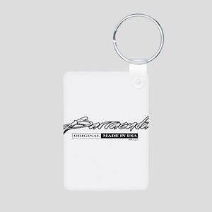 Barracuda Aluminum Photo Keychain