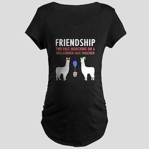Friendship Maternity Dark T-Shirt