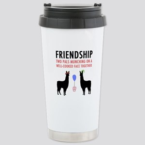 Friendship Stainless Steel Travel Mug