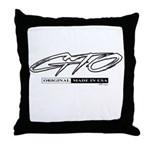 GTO Throw Pillow
