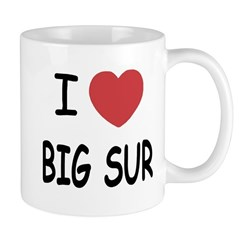 I heart big sur Mug