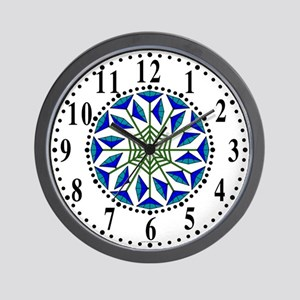 Eclectic Flower 325 Wall Clock