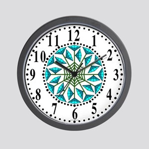 Eclectic Flower 327 Wall Clock