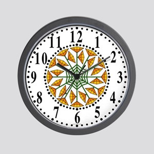 Eclectic Flower 334 Wall Clock