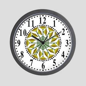 Eclectic Flower 337 Wall Clock