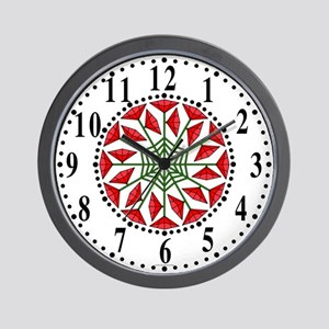 Eclectic Flower 340 Wall Clock
