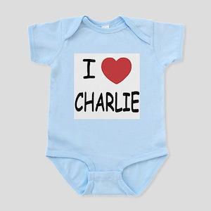 I heart charlie Infant Bodysuit