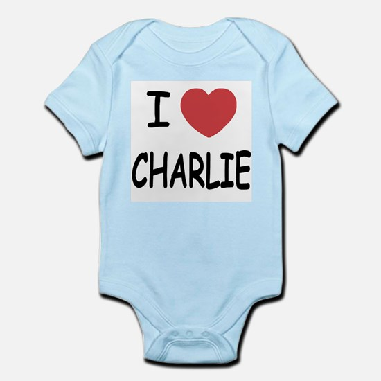 I heart charlie Infant Bodysuit