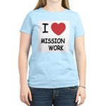 I heart mission work Women's Light T-Shirt