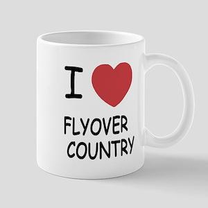 I heart flyover country Mug