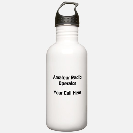Personalized Call Sign Water Bottle