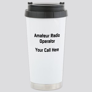 Personalized Call Sign Stainless Steel Travel Mug