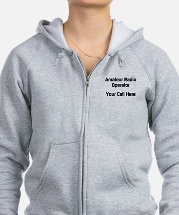 Personalized Call Sign Zip Hoodie