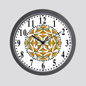 Eclectic Flower 316 Wall Clock