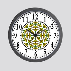 Eclectic Flower 319 Wall Clock